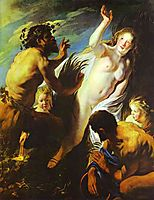 Pan and Syrinx, c.1625, jordaens