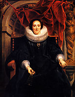 Portrait of Catharina Behaghel, 1635, jordaens