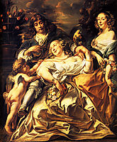 Portrait of a Family, 1650, jordaens