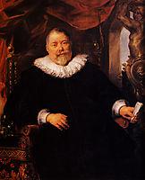 Portrait of Johan Wierts, 1635, jordaens