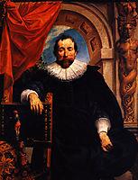 Portrait of the Rogier Witer, 1635, jordaens