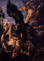 Prometheus Bound, c.1640, jordaens