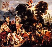 The Rape of Europa, 1643, jordaens