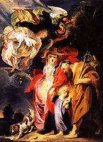 The Return from Egypt of the Holy Family, 1616, jordaens