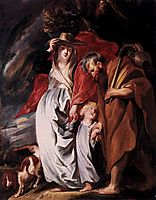 Return of the Holy Family from Egypt, c.1616, jordaens