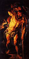 Saint Christopher carrying the Child Jesus, 1630, jordaens