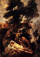 Sleep of Antiope, jordaens