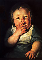 Study of little child, 1626, jordaens