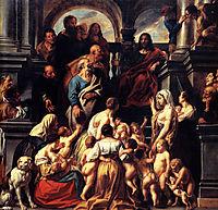 Suffer the Little Children  , 1655, jordaens