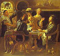 The Supper at Emmaus, c.1645, jordaens