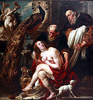 Suzanna and the Elders, jordaens