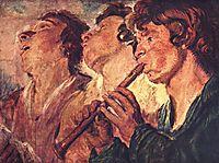 Three Musicians, jordaens