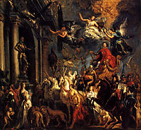 The Triumph of Frederic-Henri , 1651, jordaens