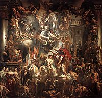 Triumph of Frederik Hendrik, jordaens