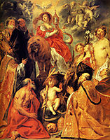 The veneration of the Eucharist, jordaens