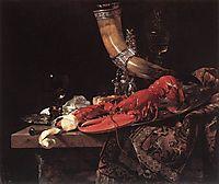 Still-Life with Drinking-Horn, 1653, kalf