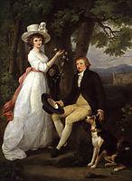 Anna Maria Jenkins and Thomas Jenkins, kauffman