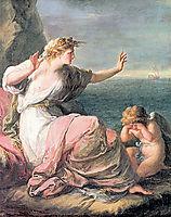 Ariadne left on the island of Naxos, kauffman