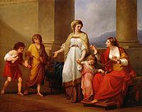 Cornelia Africana, 1785, kauffman