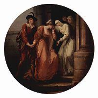 Farewell of Abelard and Héloise, 1780, kauffman