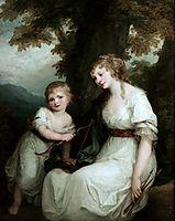 Juliane von Kriidener and her son Paul, 1786, kauffman