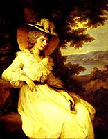 Lady Elizabeth Foster, 1785, kauffman