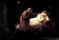 Penelope is woken by Euryclea, 1772, kauffman