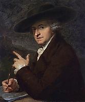 Portrait of artist-s husband, the painter Antonio Zucchi, 1781, kauffman