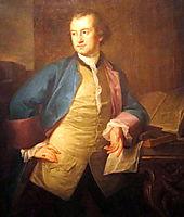 A portrait of John Morgan, kauffman