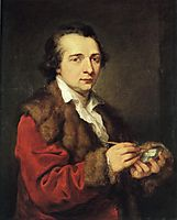 Portrait of Karl Leberecht, 1785, kauffman