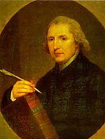 Portrait of Lorenzo Hervas y Panduro, 1794, kauffman