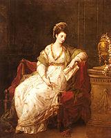 Portrait of Louise Henrietta Campbell, kauffman