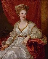 Portrait of Maria Carolina of Austria, c.1782, kauffman