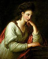 Portrait of Mme Latouce, kauffman