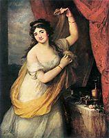 Portrait Of A Woman, 1795, kauffman