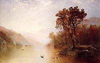 Lake George, 1869, kensett