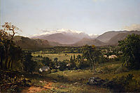 Mount Washington from the Valley of Conway, 1869, kensett