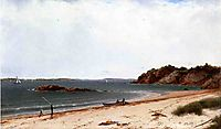 View of the Beach at Beverly, Massachusetts, 1860, kensett