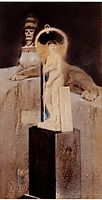 After Joséphin Péladan, The Supreme Vice, 1885, khnopff