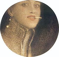 The Cigarette, 1912, khnopff