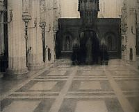 In Bruges. A Church, 1904, khnopff
