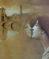 My Heart Cries for the Past, 1889, khnopff