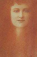 Étude de femme, 1891, khnopff