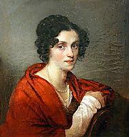 Anna de Sagyur, c.1820, kiprensky