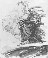 Athena, 1810, kiprensky