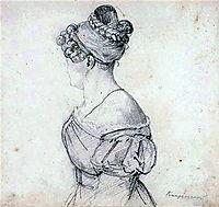 Barbara Ushakova, 1810, kiprensky