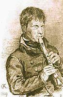 Blind musician, 1809, kiprensky