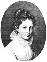 Ekaterina Bakunina, 1813, kiprensky