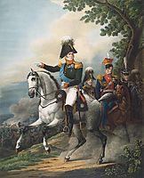 Equestrian portrait of Alexander I, 1820, kiprensky