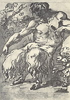 Faun with a pipe, 1820, kiprensky